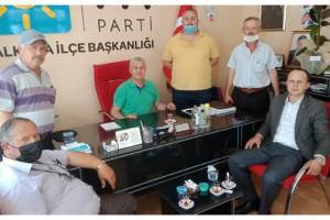 Tekirdağ DSYB'den, Malkara'da Siyasi Partilerin İlçe Başkanlarına Ziyaret