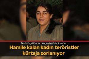 Terör örgütünden kaçan terörist itiraf etti
