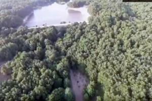 Jandarma ormanlık alanları drone ile denetliyor