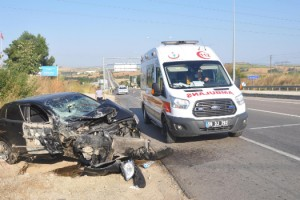 Malkara'da kaza: 3 yaralı