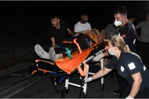 Ulaşılamayan TIR şoförü, takip cihazı sayesinde kaza yaptığı yerde yaralı bulundu