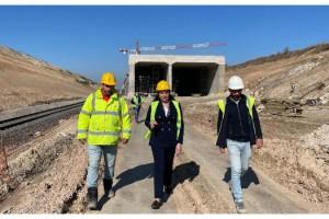 AK Parti Edirne İl Başkanı İba: Çerkezköy-Kapıkule tren hattının yüzde 50'si tamamlandı