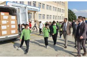 Süleymanpaşa Belediyesi'nden 1111 öğrenciye eğitim malzemesi desteği