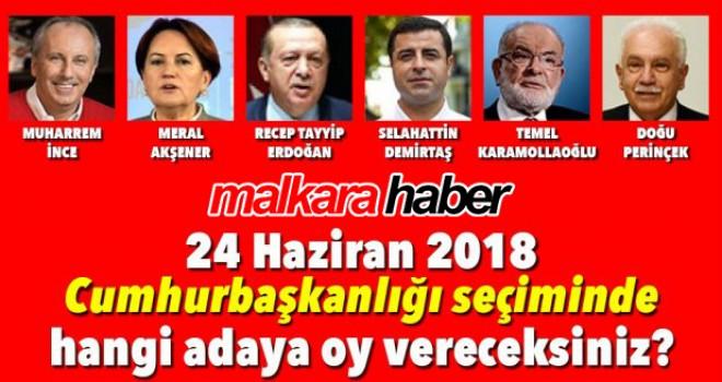 24 Haziran Cumhurbaşkanı Seçim Anketi