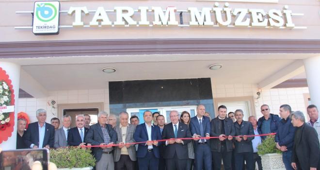 Trakya'nın İlk Tarım Müzesi Açıldı