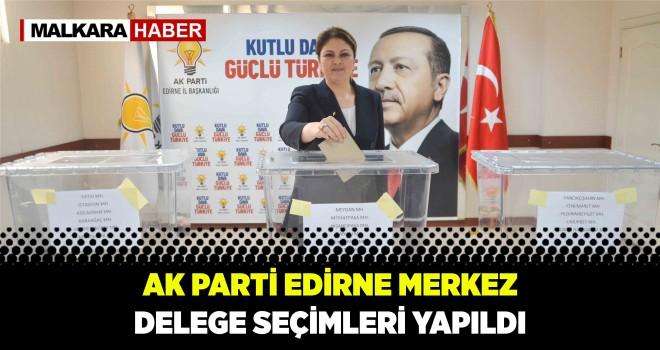AK Parti Merkez Delege Seçimleri Gerçekleştirildi