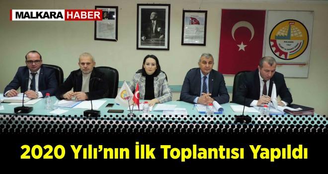 MALKARA TSO MECLİSİ TOPLANDI