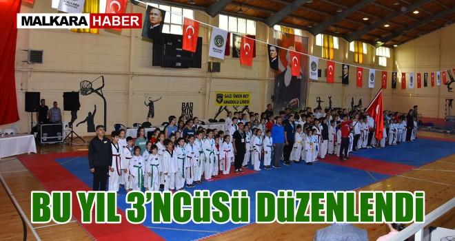 Malkara'da Şehit Selim Vural Taekwondo Turnuvası Düzenlendi