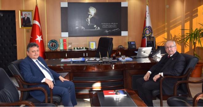 Başkan Albayrak'tan Emniyet Müdürü ve Jandarma Komutanına Ziyaret