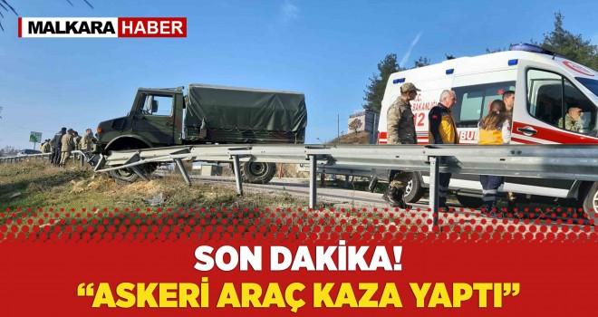 Askeri Araç Bariyere Çarptı: 8 Yaralı