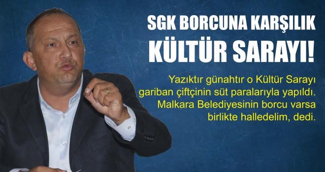Gökhan Şentürk; Belediye'nin SGK'ya 11 Milyon TL Borcu Var!
