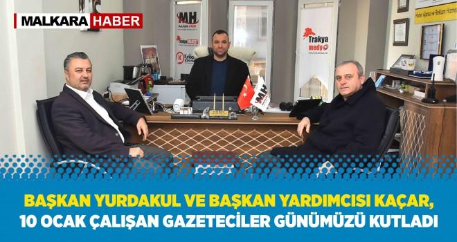 Başkan Yurdakul'dan Malkara Haber'e Ziyaret
