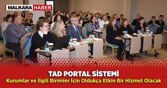 TRAKYAKENT'den (TAD Portal) Sistemi Eğitimi
