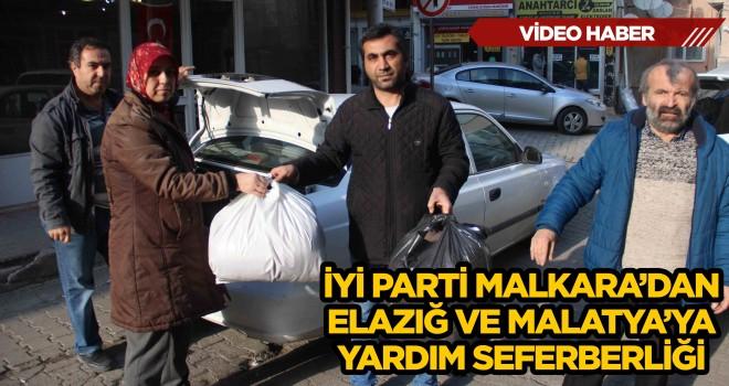 İyi Parti Malkara'dan Elazığ ve Malatya'ya Yardım Seferberliği