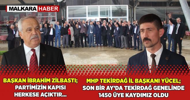 """MHP Malkara İlçe Başkanlığı'ndan """"Vefa Buluşması"""""""