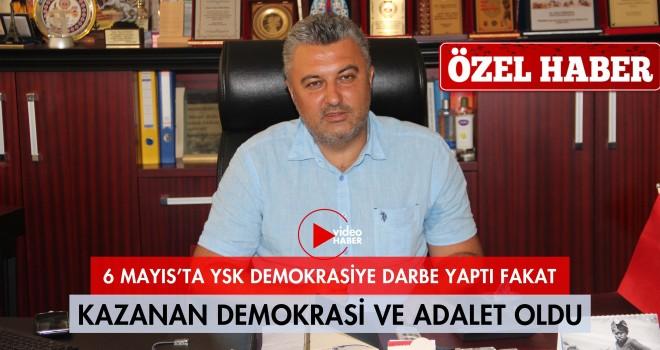 Başkan Yurdakul İstanbul Seçimlerini Malkara Haber'e Değerlendirdi