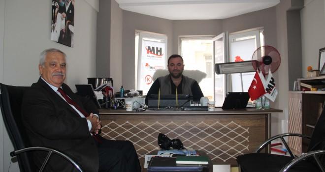 MHP İlçe Başkanından Malkara Haber'e Ziyaret