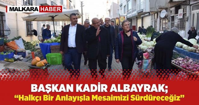 Başkan Kadir Albayrak'tan Malkara Çıkarması