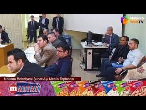 Malkara Belediyesi Şubat Ayı Meclis Toplantısı
