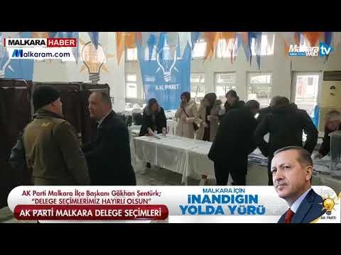 AK Parti Malkara Delege Seçimleri