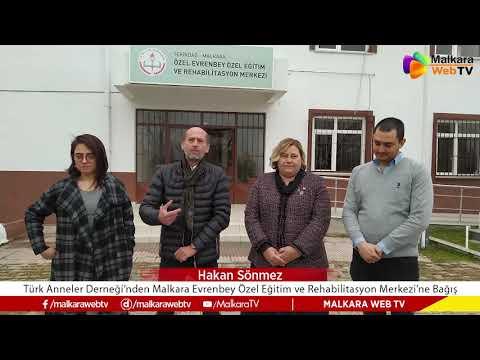 Türk Anneler Derneğinden Malkara Evrenbey Özel Eğitim ve Rehabilitasyon Merkezine Bağış