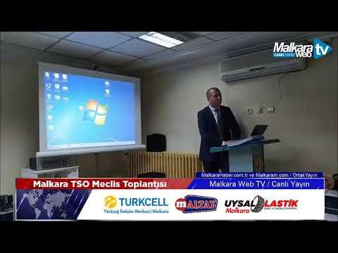 Malkara Ticaret ve Sanayi Odası Meclis Toplantısı / Canlı Yayın
