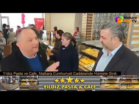 Yıldız Pasta ve Cafe Malkara Cumhuriyet Caddesinde Hizmete Girdi.
