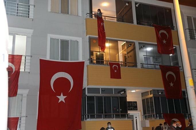 Edirne'ye Şehit Ateşi Düştü
