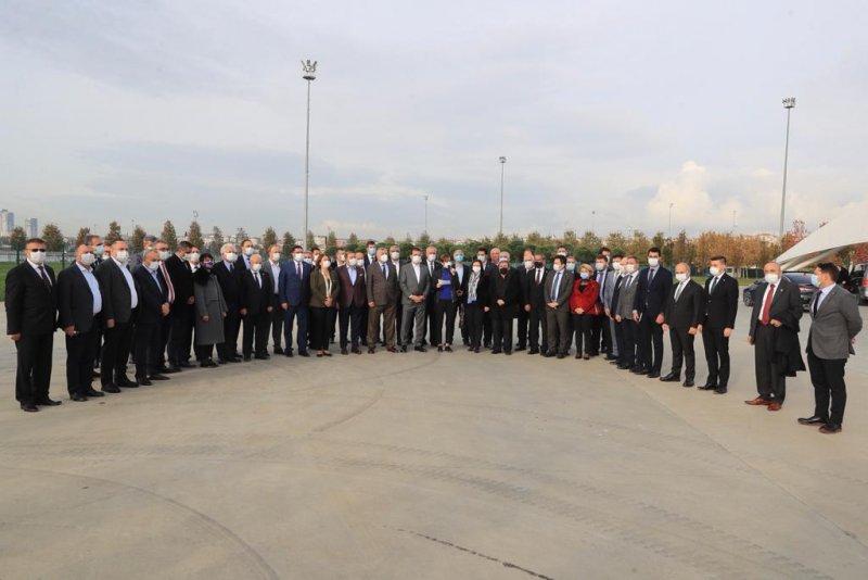 CHP'lilerden tehdit protestosu
